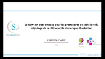 RSW - Depistage retinopathie diabetique illustration